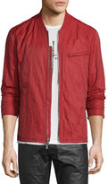 John Varvatos Lightweight Bomber Jacket, Red