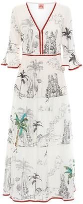 Le Sirenuse Positano Bella Printed Cotton Voile Dress