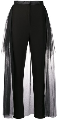 Loulou tulle skirt trousers
