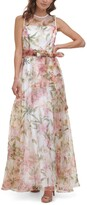 Thumbnail for your product : Eliza J Illusion-Neck Ball Gown