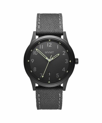 MVMT Men's Analogue Quartz Watch with Canvas Strap 28000015-D