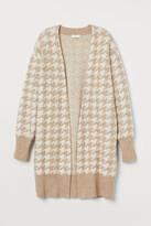 H&M Jacquard-knit Cardigan