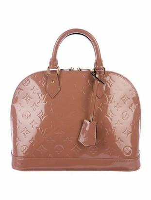 Louis Vuitton Vernis Alma PM Rose