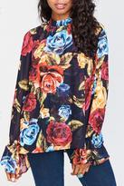 Show Me Your Mumu Ladybug Floral Top