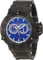 Invicta Men's Subaqua/Noma III Chronograph Dial Gunmetal Ion Plated Stainless Steel
