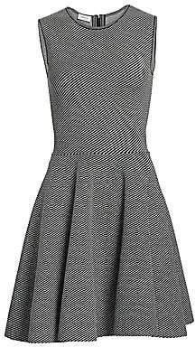 Akris Punto Women's Geo Knit Fit-&-Flare Dress
