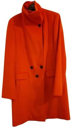 Paul Smith Orange Wool Coat for Women