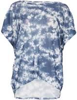 *Voulez Vous Navy Crinkle Tie Dye T-Shirt