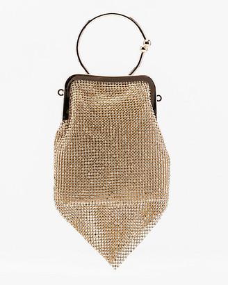 Le Château Glitter Mesh Bag