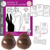 Braza Bras: Reveal 2 Cleavage Galore Silicone Strapless Backless Adhesive Bra 7840