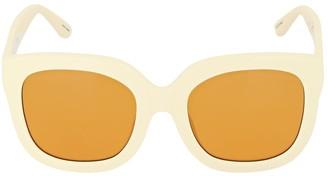 ATTICO Zoe Oversized Round Acetate Sunglasses