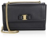 Salvatore Ferragamo Medium Ginny Vara Leather Shoulder Bag