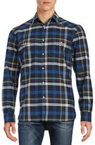 Lucky Brand Santa Fe Western Snap Button Shirt
