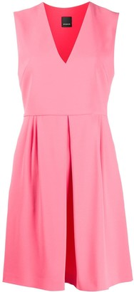 Pinko inverted pleat dress