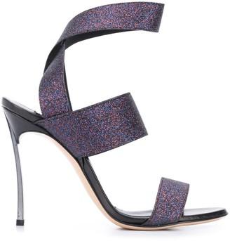 Casadei Elastic-Strap Sandals
