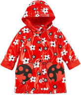 WIPPETE Wippette Girls Ladybug Raincoat-Toddler