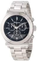 "Salvatore Ferragamo Men's F78LCQ9909 S099 1898"" Stainless Steel Chronograph Watch"