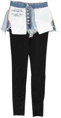 Unravel Project Blue Cotton Jeans