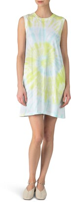 ATM Anthony Thomas Melillo Tie Dye T-Shirt Dress