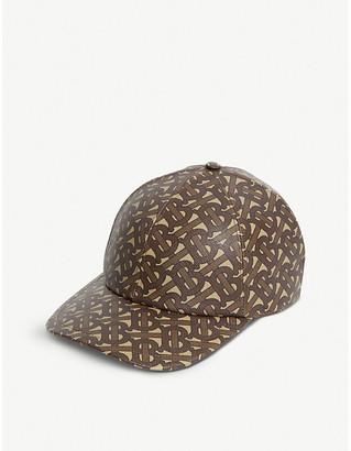 Burberry Monogram-print coated-cotton baseball cap
