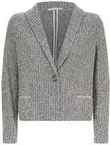 Fabiana Filippi Knitted Embellished Trim Blazer