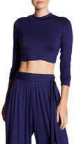 Rachel Pally Long Sleeve Cropped Shirt