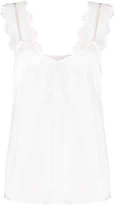 CAMI NYC Chelsea lace-strap top