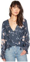 The Jetset Diaries Iman Surplice Top Women's Clothing
