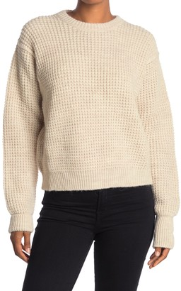 Zadig & Voltaire Kary Waffle Knit Boxy Sweater