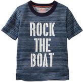 Osh Kosh Glow-in-the-Dark Striped Boat Tee