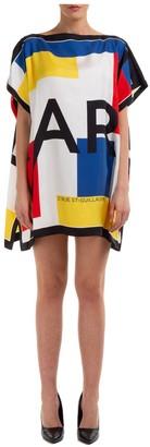 Karl Lagerfeld Paris Geometric Print Dress