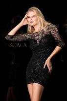 Scala 48655 Dress In Black/Multi