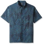 Van Heusen Men's Big and Tall Oasis Printed Short Sleeve Shirt