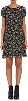 Saint Laurent Women's Floral-Print Crêpe Dress