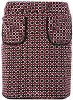 Dorothy Perkins Red Geometric Print Pocket Mini Skirt