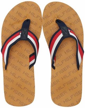 Tommy Hilfiger Men's Dalo Flip-Flop Yellow 7 Medium US