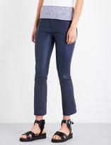 Rag & Bone Hana cropped leather trousers