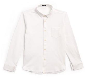 Il Gufo Cotton Pique Shirt