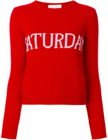 Alberta Ferretti Saturday jumper - women - Cashmere/Virgin Wool - 38