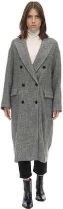 Etoile Isabel Marant Habra Wool Blend Coat