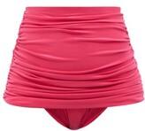 Thumbnail for your product : Norma Kamali Bill High-rise Bikini Briefs - Pink