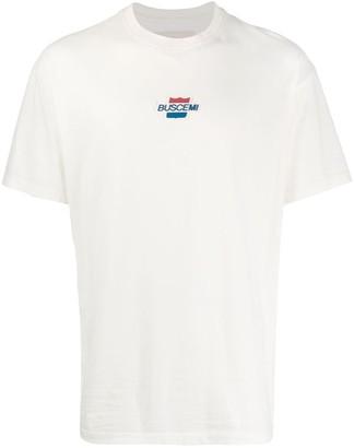 Buscemi loose-fit logo patch T-shirt