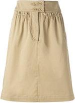 Etro straight skirt