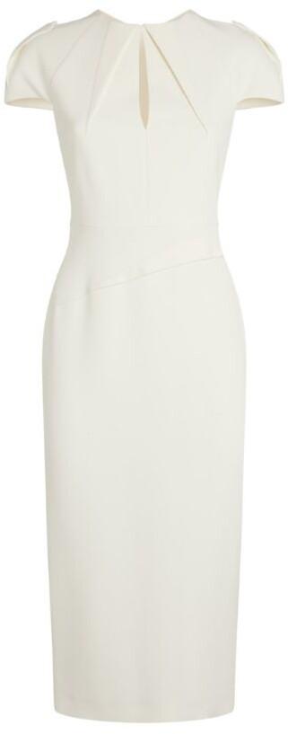 Thumbnail for your product : Roland Mouret Eppleton Keyhole Dress