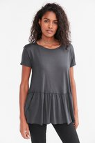 Truly Madly Deeply Dusty Road Peplum Tee Dress