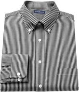 Croft & Barrow Men's Fitted Ralphy Striped Button-Down Dress Shirt