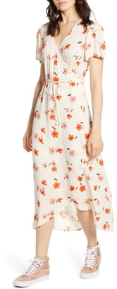 Billabong Floral Fields Midi Dress