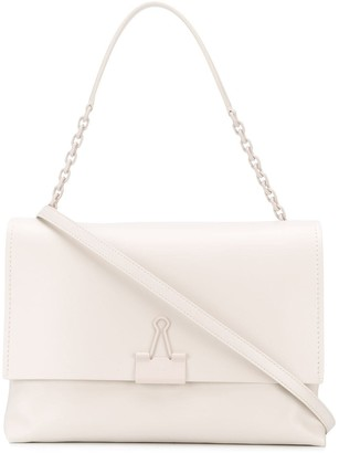 Off-White large Binder Clip shoulder bag