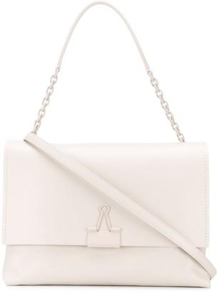 Off-White Soft Binder Clip shoulder bag