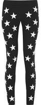 Gareth Pugh Embroidered Stretch-Ponte Skinny Pants